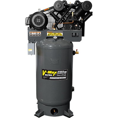 Upright Air Compressor 120 Gallon Tank VMX-10120V-603 by BendPak