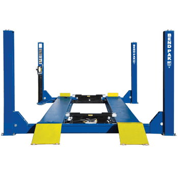 BendPak HD-40X extra-long heavy-duty four post lift