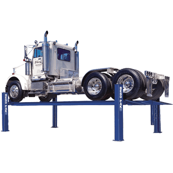 HD-40 four-post 40,000 pound truck lift