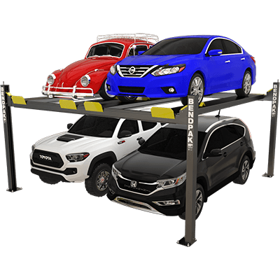 HD-9SW Super-Wide Four-Post Hoist by BendPak