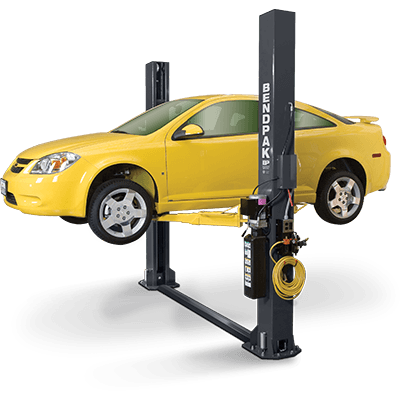 BendPak XPR-9S short-style floor plate two post hoist
