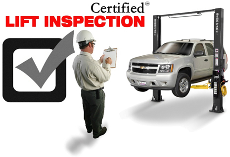 BendPak Car Hoist Inspection Program