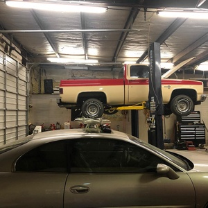 Lifting Full Size Truck BendPak Two Post Hoist
