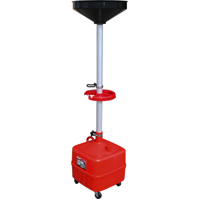 RD-9G 34 L (9-gal) Upright Portable Oil Drain