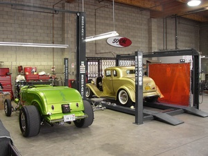 Jimmy Shine BendPak Automotive Lifts