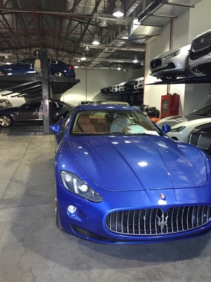 Maserati Dealership Car Storage Lifts