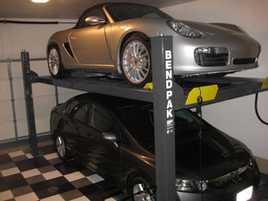Home Garage Car Hoist Four Post BendPak