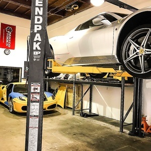Ferarri Raised BendPak 2 Post Hoist