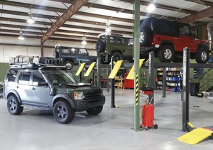 BendPak Four Post Car Hoists Jeeps