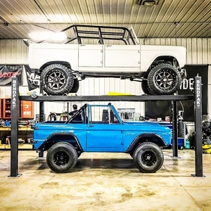 Ford Bronco BendPak Four Post Hoist