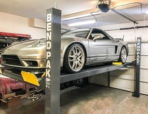 Acura NSX BendPak Four Post Hoist