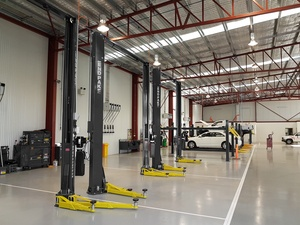 Car Dealership Repair Bay BendPak Lifts