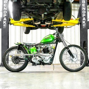 1965 Triumph Tiger Chopper BendPak Hoist