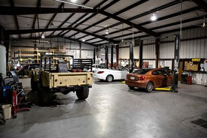 Warehouse BendPak Car Lifts