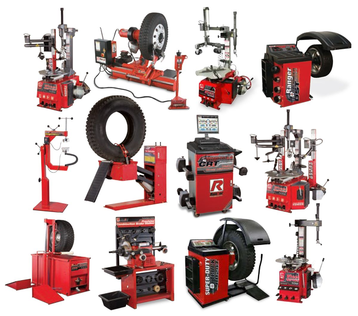 Ranger Products Wheel Service and Shop Equipment
