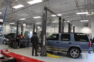 Automotive Repair Shop Car Lifts