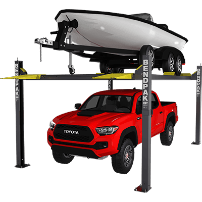 HD-7500BLX 3,401-kg. Capacity / Vehicle and Boat Storage Hoist / 2,082 mm Rise