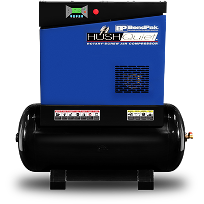 RS7580H-603 7.5 HP Rotary-Screw Air Compressor / Horizontal 303 L (80-gal) Tank / 208-230V, 60HZ, 3-Phase
