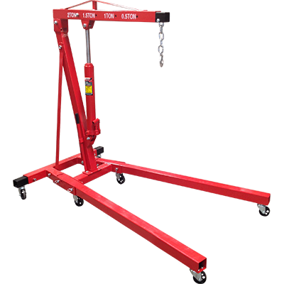 RSC-2TF 2 Ton (1.8-mt.) Folding Shop Crane