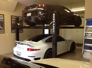High End Sports Car Storage BendPak Hoist